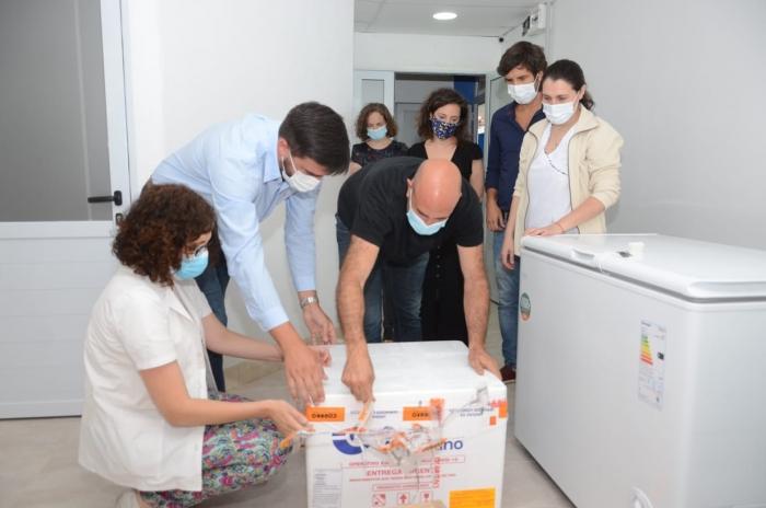 Llegaron más vacunas a Olavarría.