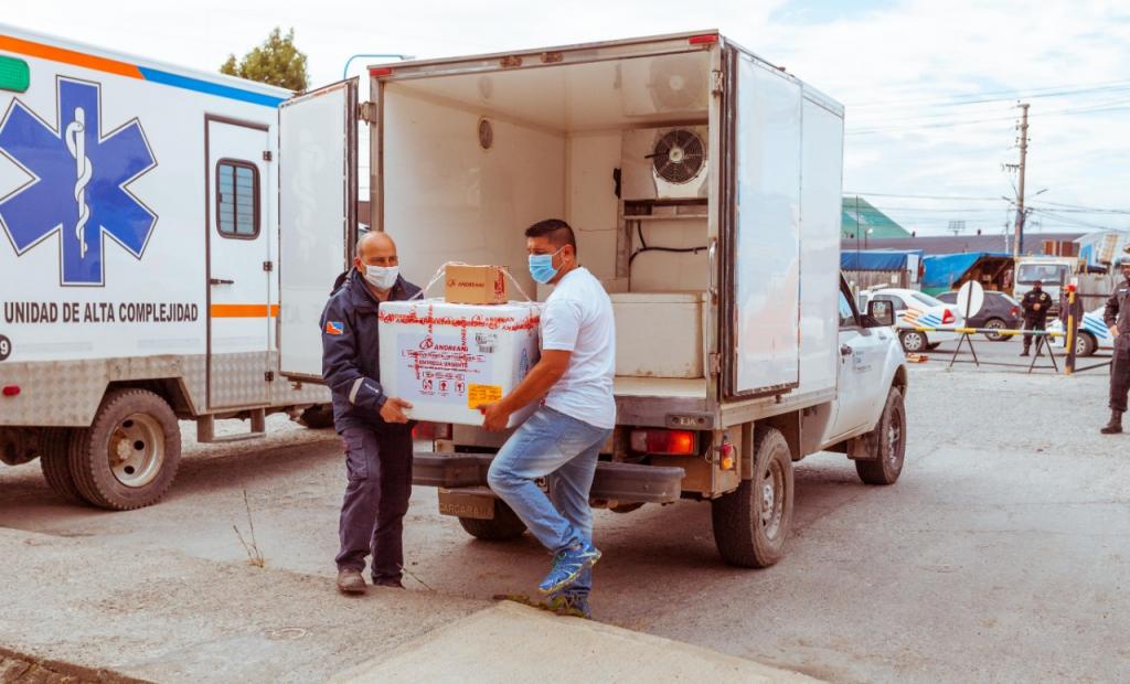Todas las provincias ya recibieron la segunda entrega de las 300 mil vacunas contra la COVID-19