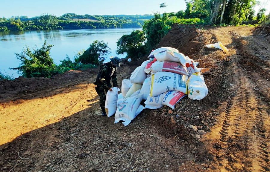 Prefectura Naval secuestró 4500 kilogramos de semillas de soja
