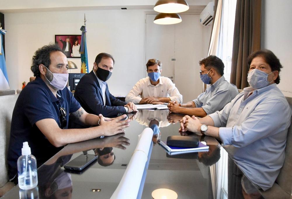 Lucas Ghi y el secretario de Obras Públicas de Nación avanzan en el proyecto de un Centro Interuniversitario en Morón