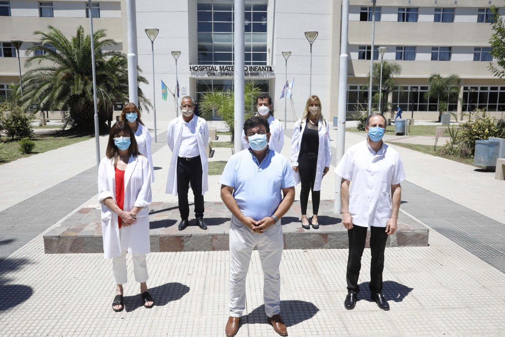 """Fernando Espinoza: """"Es un orgullo que en un hospital público municipal de La Matanza se esté aplicando la vacuna contra el COVID-19"""""""
