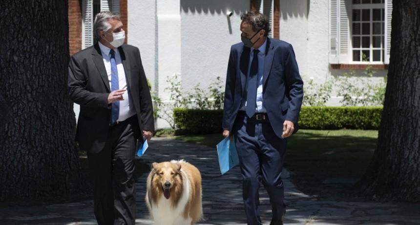 """Alberto Fernández: """"Este año la obra pública será la base de la reconstrucción económica argentina"""""""