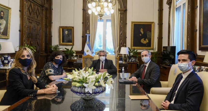 El Presidente recibió a funcionarios de México