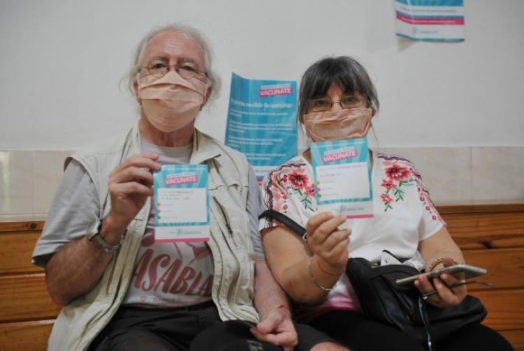 40 mil bonaerenses mayores de 60 años ya recibieron la vacuna contra el Covid-19
