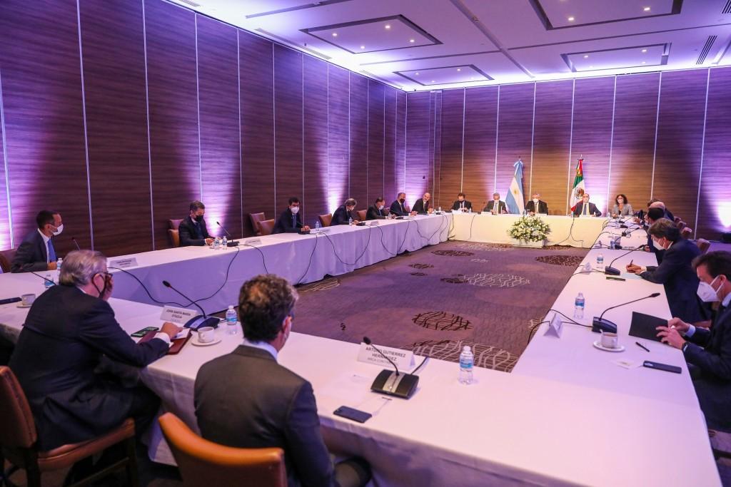 El Presidente se reunió con empresarios mexicanos que tienen inversiones en la Argentina