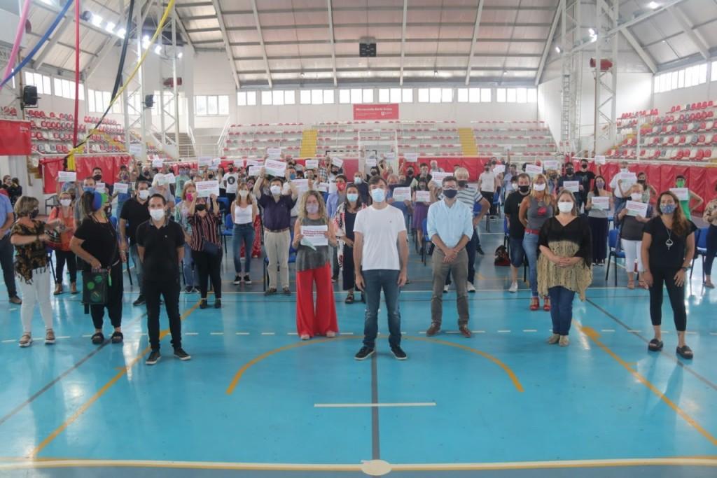 Morón: segunda entrega de subsidios del Fondo Especial para la Reactivación Cultural y Turística