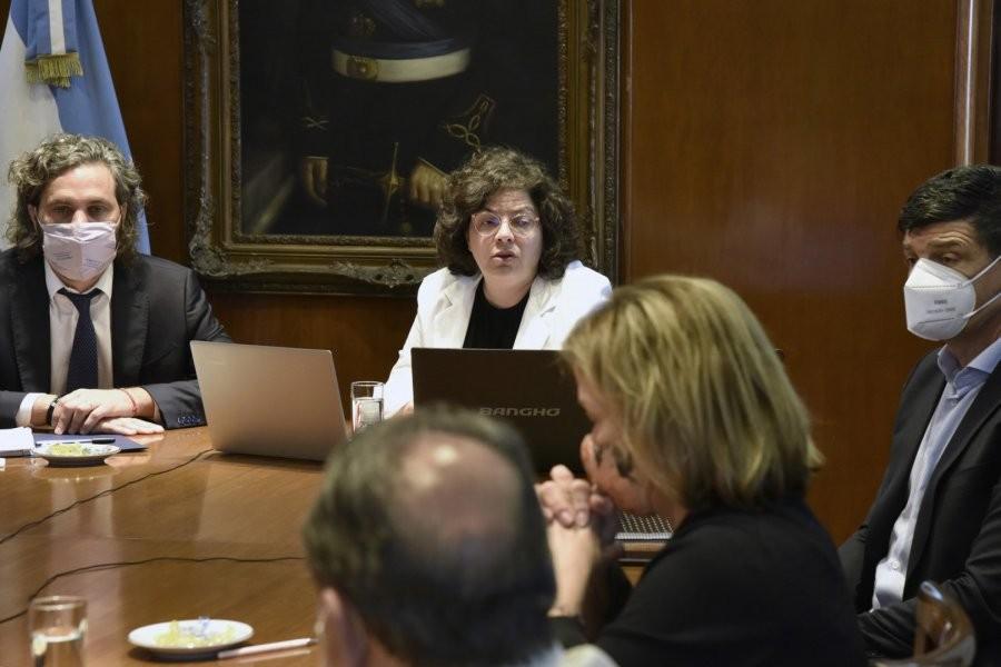 Carla Vizzotti y Santiago Cafiero se reunieron con todos los ministros de salud provinciales