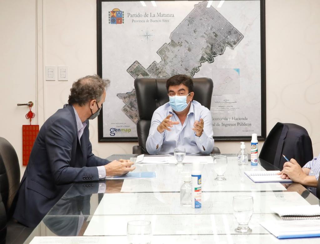 """Fernando Espinoza: """"Seguimos cambiando La Matanza a través de una gran inversión en obra pública"""""""