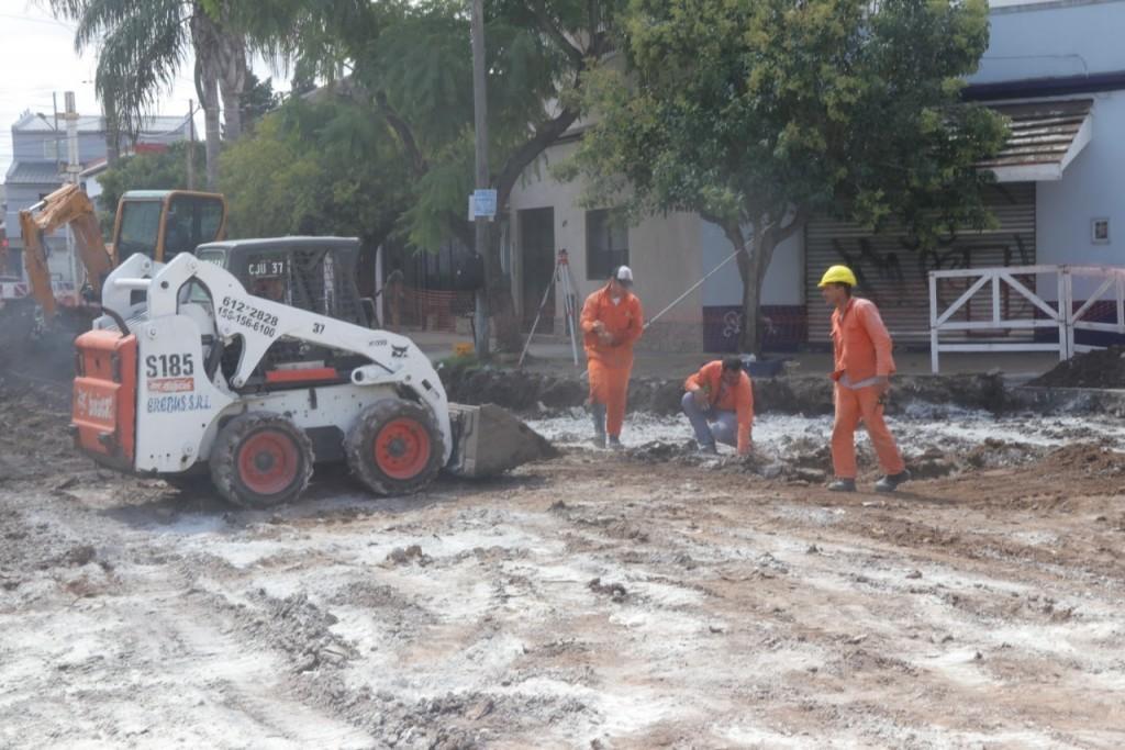 El Municipio de Morón continúa con el Plan Intensivo de Bacheo y Asfalto en distintos puntos del partido