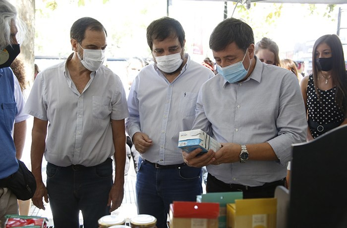 Daniel Arroyo y Fernando Moreira reinauguraron el Centro Integrador Comunitario de Villa Zagala