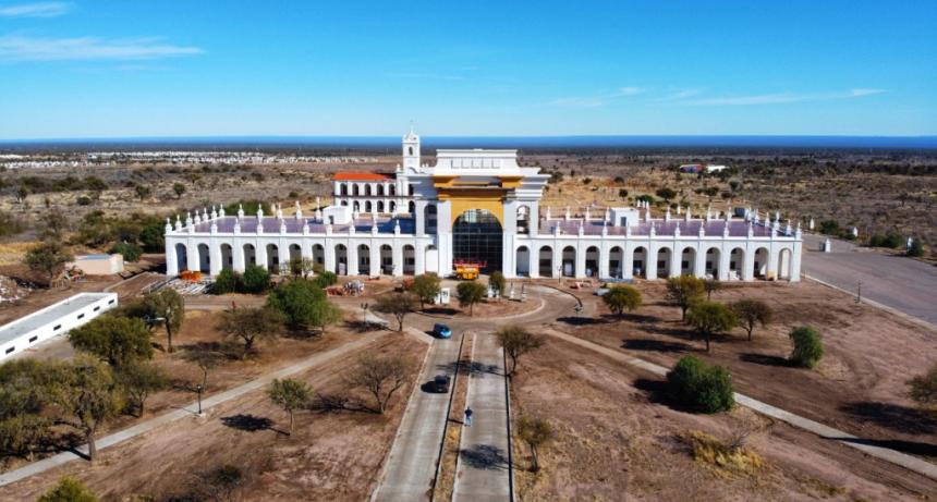 Obras de infraestructura turística en San Luis