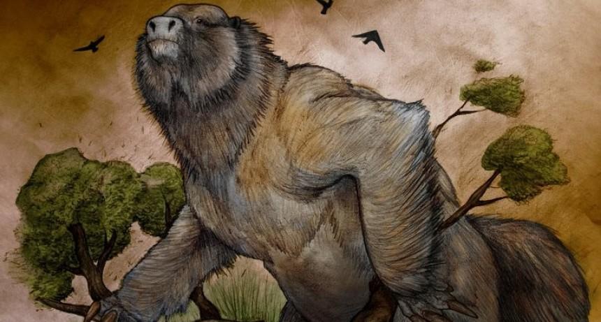 Hallan el megaterio más antiguo de Argentina