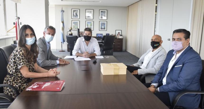 Matías Lammens se reunió con autoridades de Salta