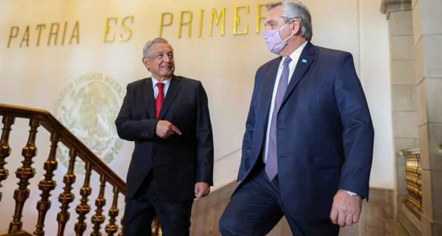 El presidente  mantuvo una intensa agenda de trabajo con su par de México, Andrés Manuel López Obrador