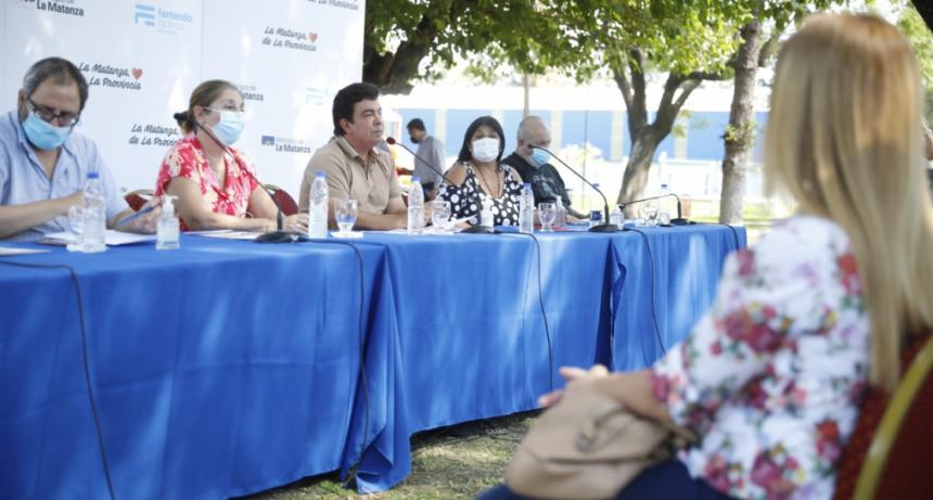 """Fernando Espinoza: """"Seguimos cambiando La Matanza"""""""