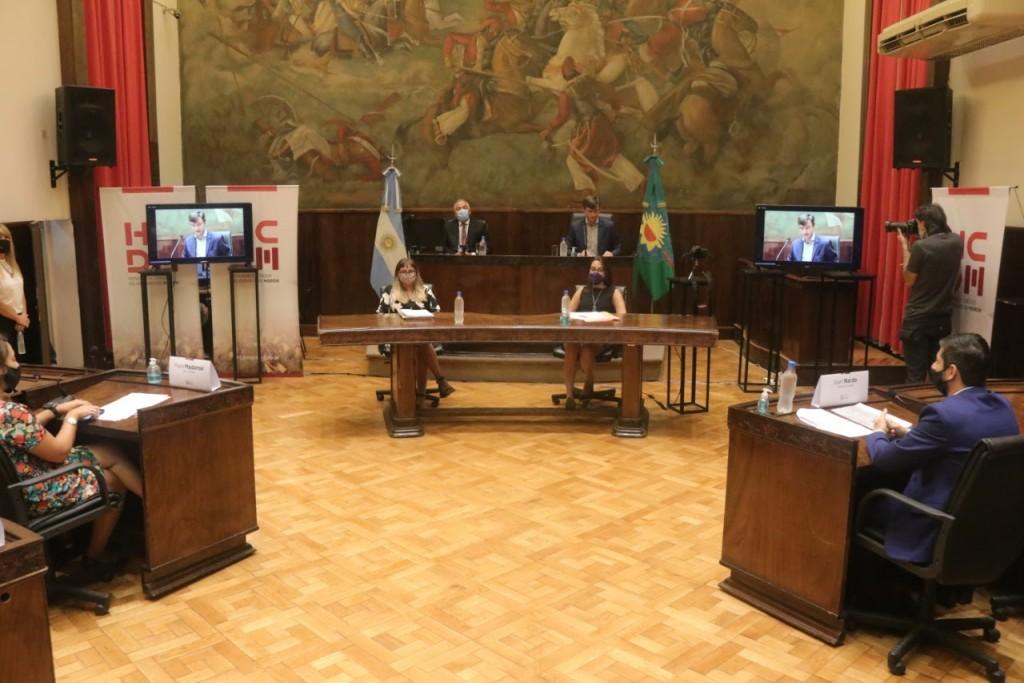 Lucas Ghi abrió sesiones con la mirada puesta en la reconstrucción del municipio