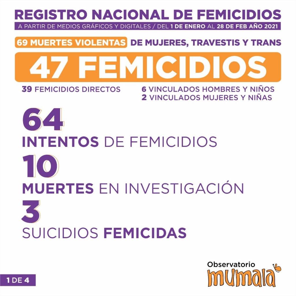 Registro Nacional de Femicidios Mumalá