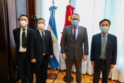 Matías Kulfas recibió al CEO de Jiankang para avanzar en la movilidad sustentable