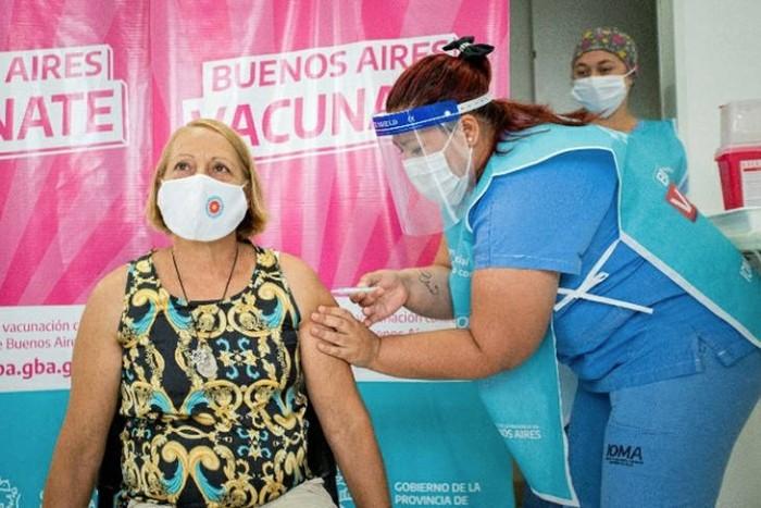 Quiénes se están vacunando y cómo sigue la vacunación en la Pcia. de Buenos Aires