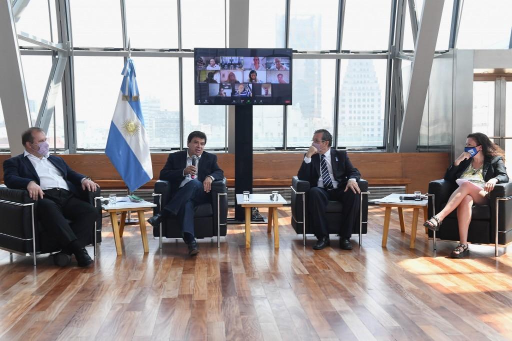 Claudio Moroni y Tristán Bauer anunciaron apoyo complementario del REPRO II para las industrias culturales