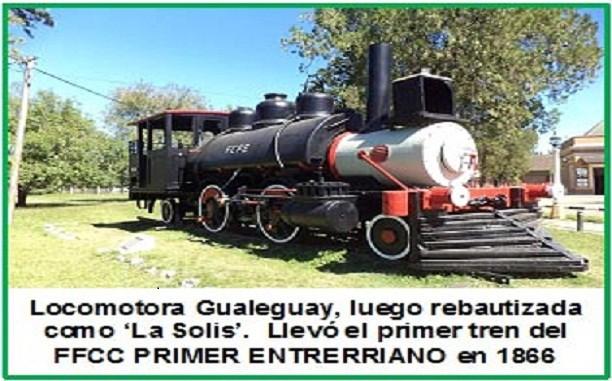 Trenes que cuentan su historia.