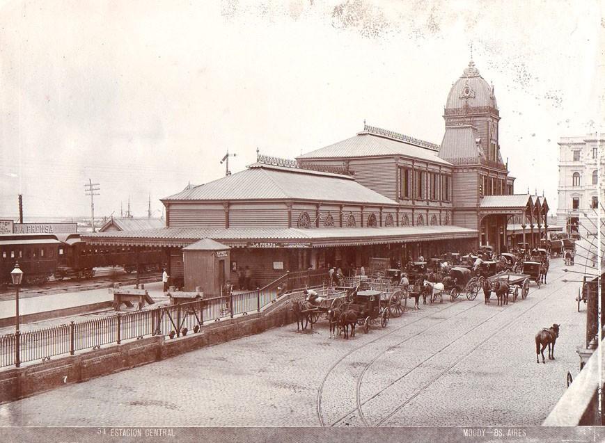 1872- ESTACIÓN CENTRAL DE BUENOS AIRES