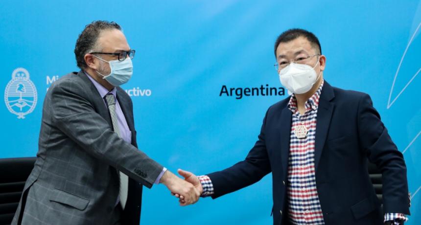 Matías Kulfas recibió a directivos de la empresa Jiankang