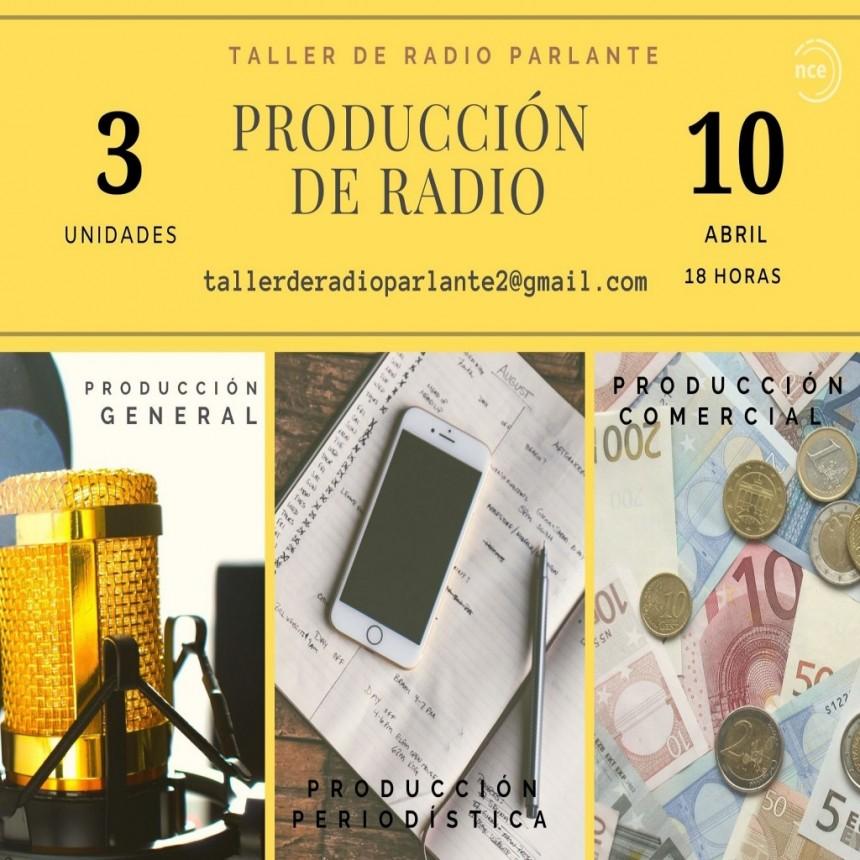 Producción general, la cocina de los programas de radio