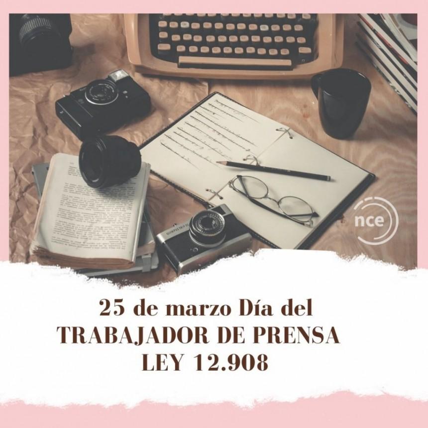 A 77 años de su creación, se conmemora el Día del Trabajador de Prensa
