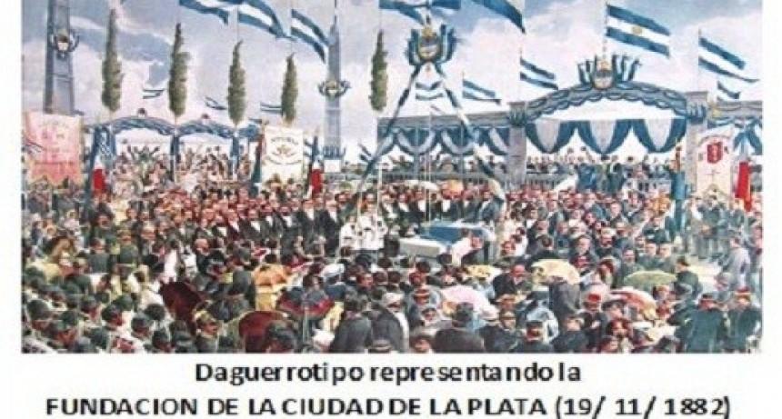 1882: Dos ferrocarriles en la  Fundación de la ciudad de La Plata.