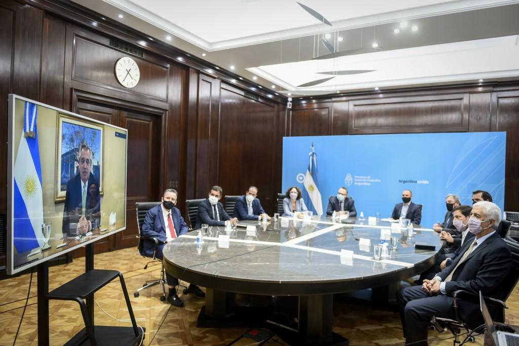 """Alberto Fernández: """"Queremos proteger al que confía e invierte en la Argentina"""""""