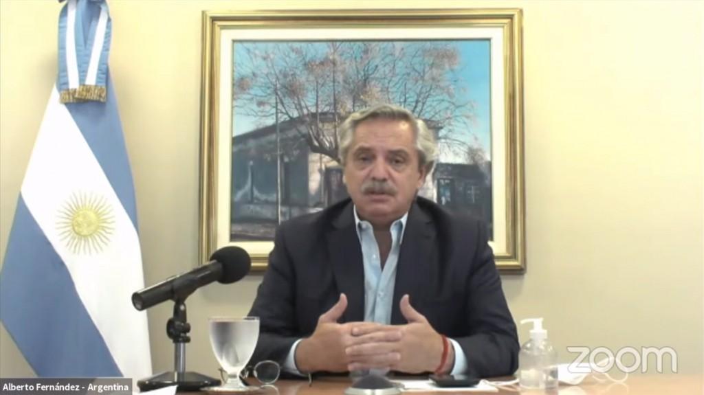"""Alberto Fernández: """"La pandemia debe obligar a los organismos de crédito a revisar las lógicas que han imperado hasta el momento"""""""
