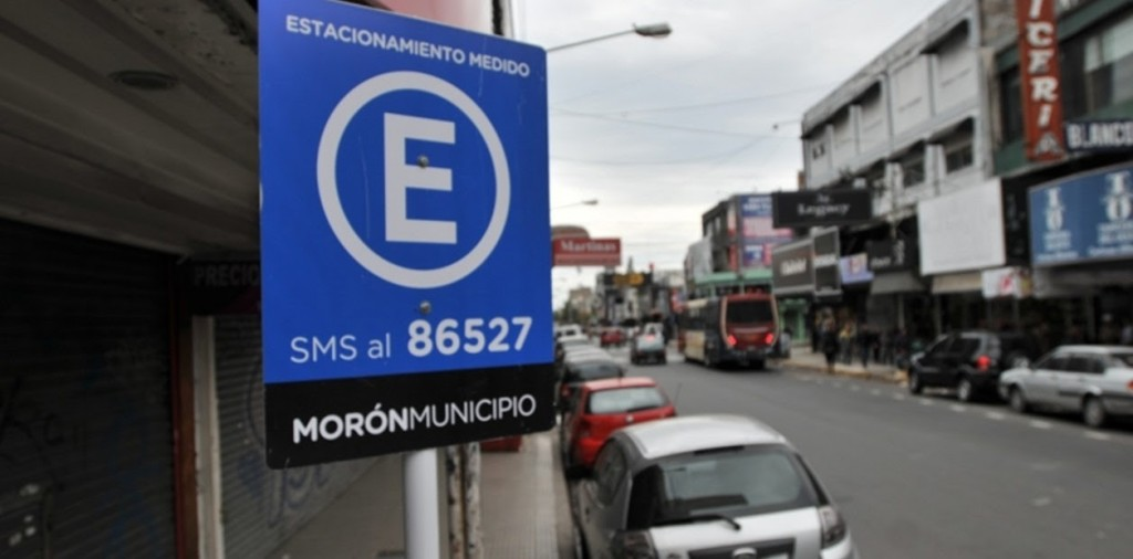 El Municipio de Morón libera el estacionamiento medido hasta fin de mes