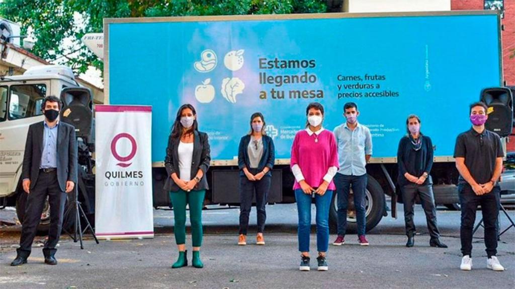"""Paula Español presentó el """"Mercado Federal Ambulante"""""""