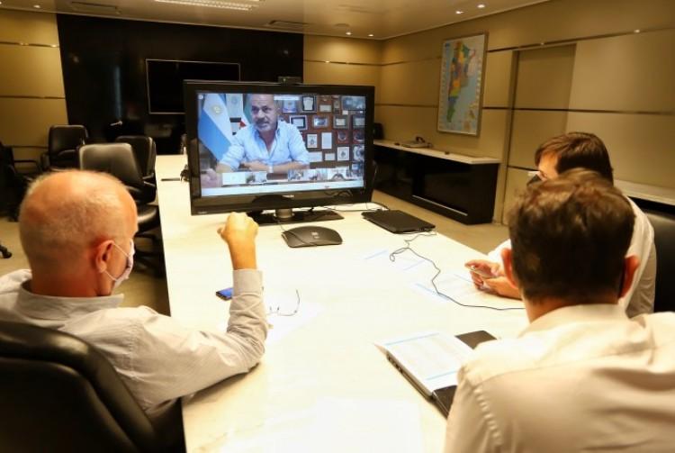 Axel Kicillof se reunió con intendentes del Área Metropolitana de Buenos Aires