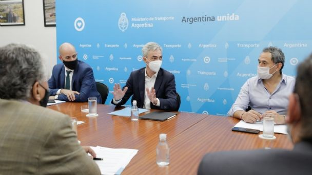 Mario Meoni en la primera reunión del Consejo Federal de Logística Multimodal