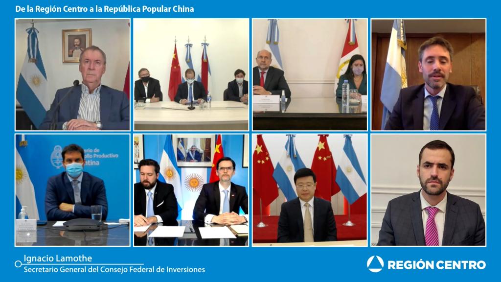 Lanzamiento del Programa de Inserción de la Región Centro en China