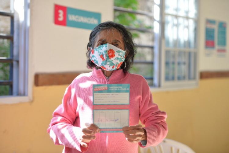 La Provincia de Buenos Aires ya inmunizó más de un millón de personas mayores de 70 años