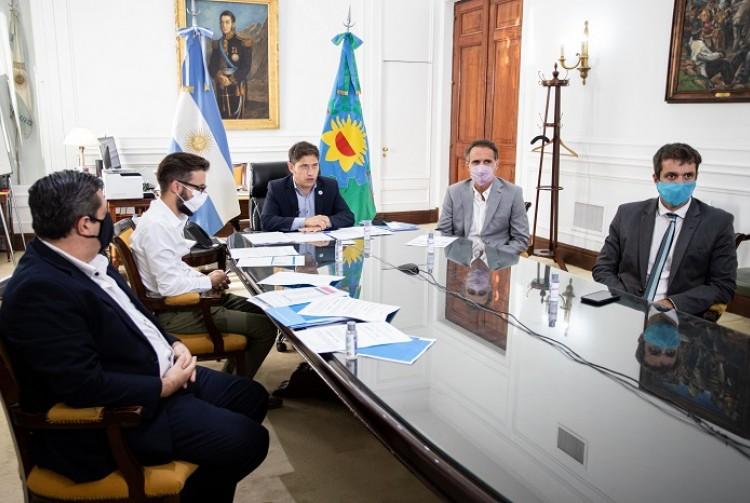 La Provincia de Buenos Aires y Nación firmaron convenios para realizar obras de agua potable y cloacas en 11 municipios