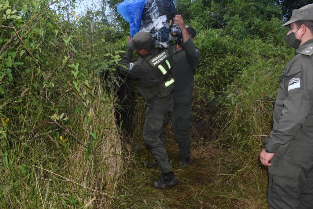 Gendarmería Nacional secuestró más de 229 kilos de marihuana en Formosa