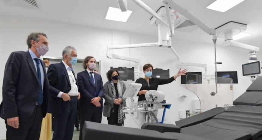 """Se inauguró el Hospital Central """"Dr. Ramón Carrillo"""