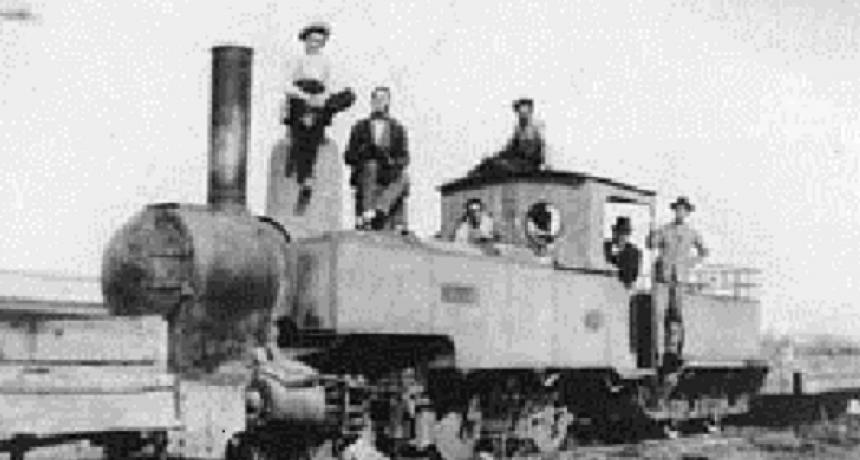 1890: El TRANVÍA A VAPOR DE RAFAELA S.A.