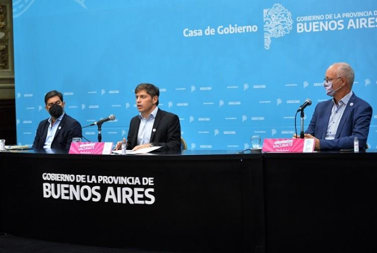 Axel Kicillof: Vamos a fortalecer la inversión social y productiva para acompañar a los sectores más perjudicados por la pandemia