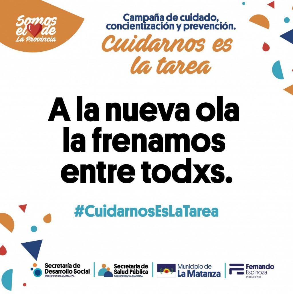 """La Matanza: se puso en marcha la Campaña """"Cuidarnos es la Tarea"""""""