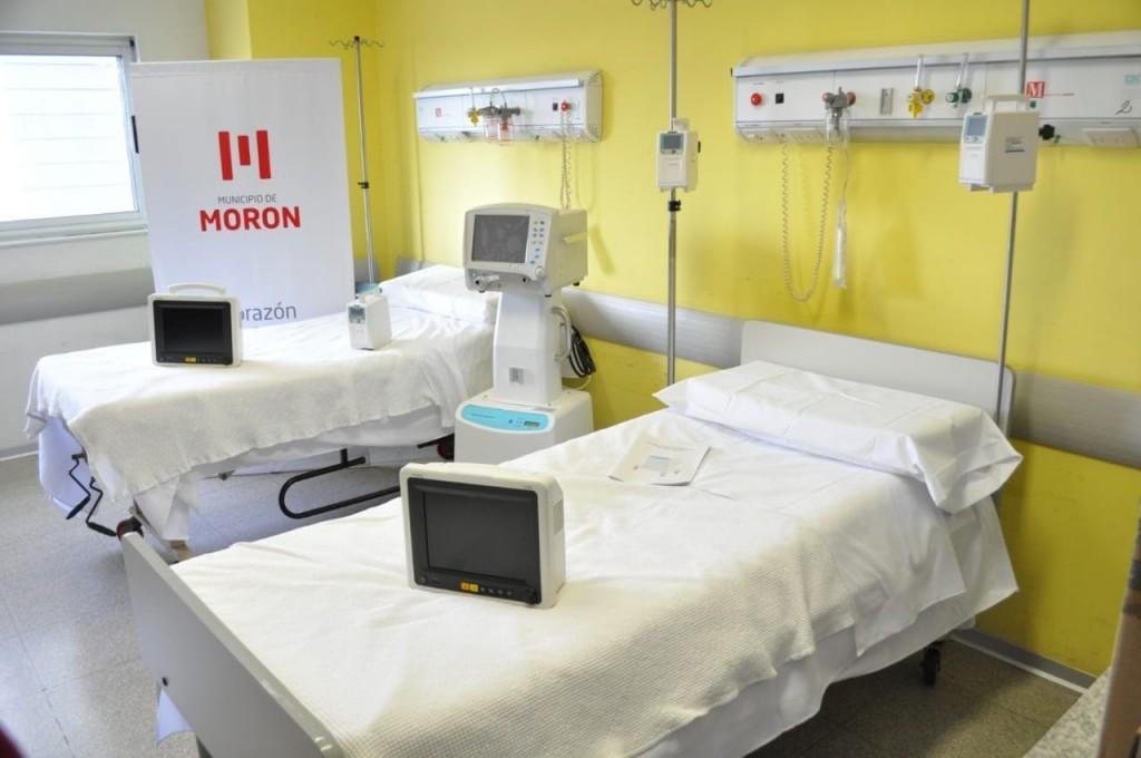 En un año, el Hospital de Morón duplicó su capacidad de brindar asistencia respiratoria