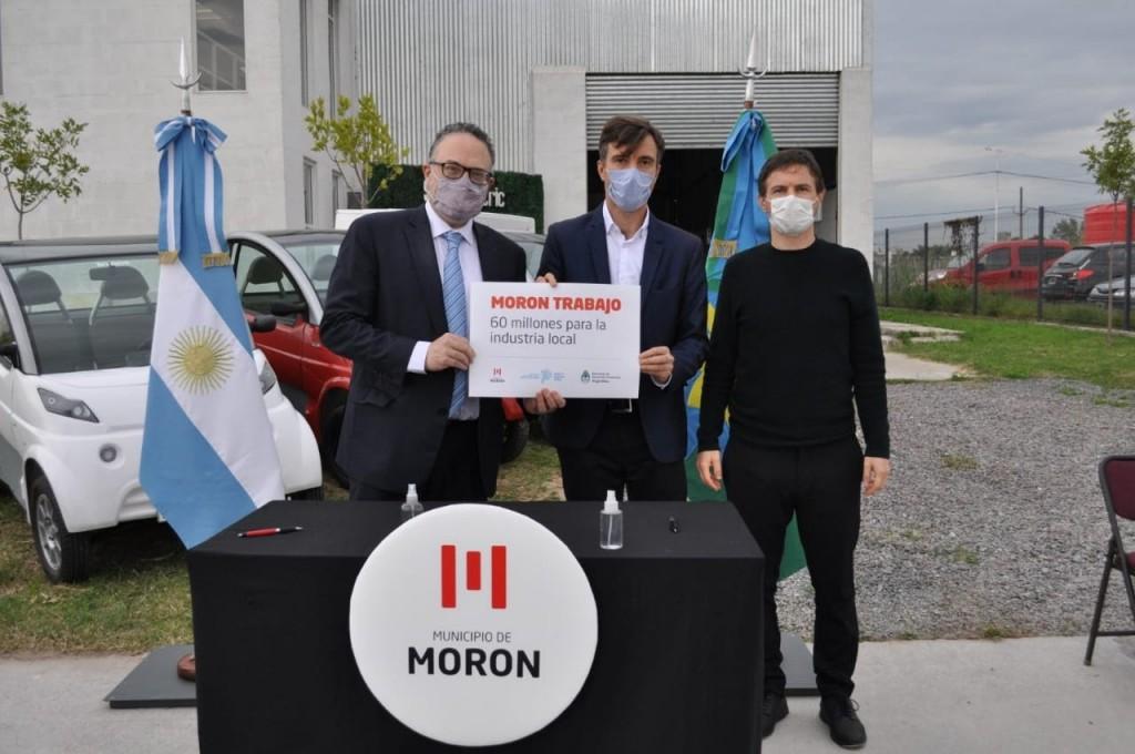 La Nación destinó $60 millones al Parque Industrial Tecnológico Aeronáutico de Morón