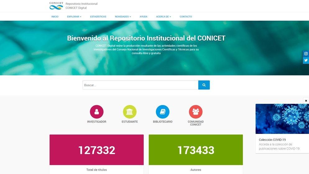 Más de 500 publicaciones sobre COVID-19 disponibles en el RI CONICET Digital