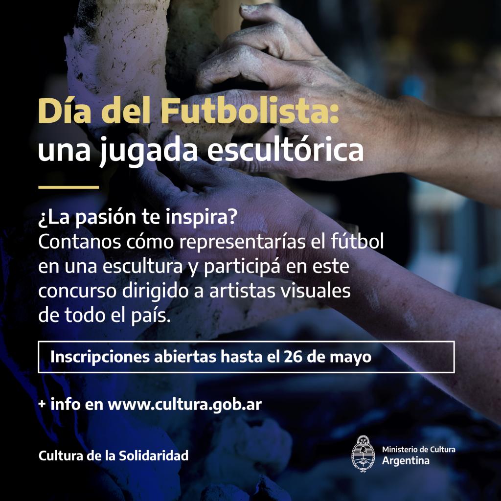 """Concurso Nacional de escultura """"Día del Futbolista"""""""