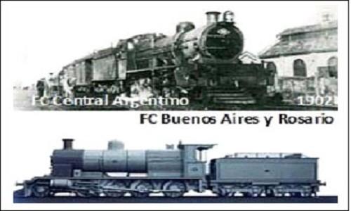 """1902:  LA EMPRESA """"FFCC BUENOS AIRES y ROSARIO"""" se fusiona con el FFCC CENTRAL ARGENTINO."""