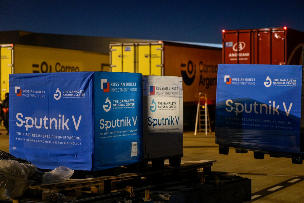 Comenzó la distribución en todo el país de otras 489.600 Sputnik V y Argentina superará las 8.000.000 de personas vacunadas con una dosis